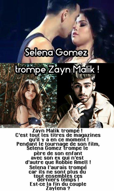 #MagazineRPG : Selena Gomez trompe Zayn Malik !