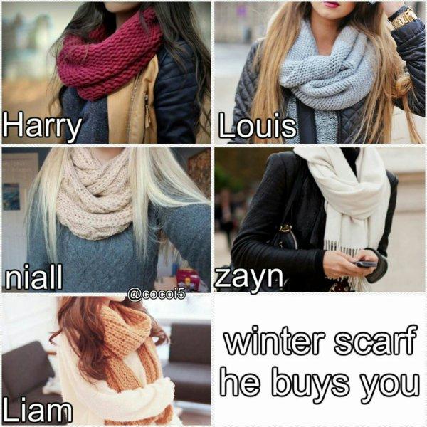 Niall, Louis et Zayn !
