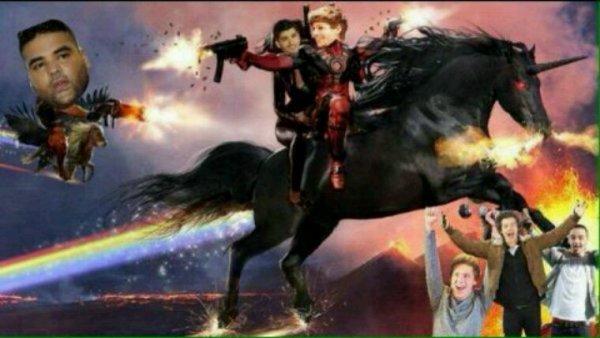 C'est Louis le king qui sauvent tout le monde ! XD