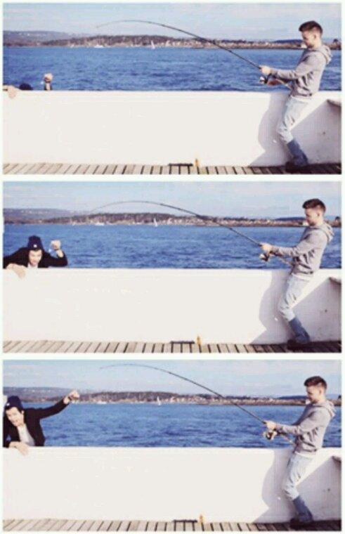 La pêche au Harry ? Bien sûr que ça existe !