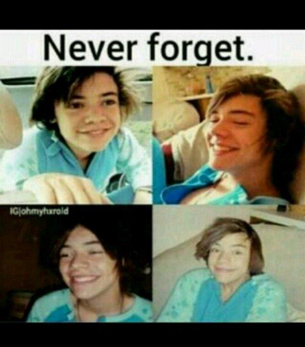 Harry sans bouclettes ? C'est une chose qu'on n'oubliera jamais effectivement !