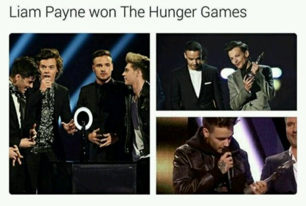 Donc Liam a gagner les Hunger Games, okay ! XD