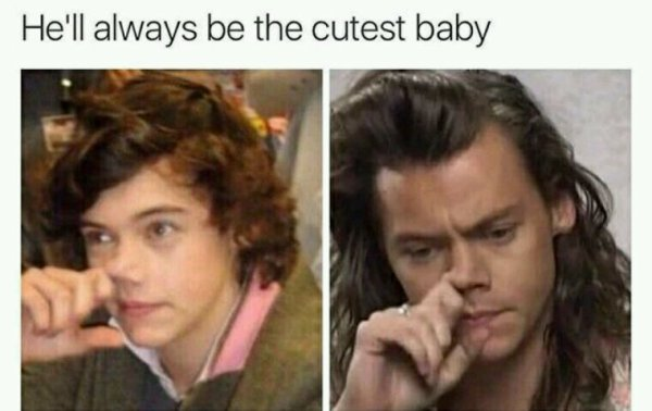 Il sera toujours un petit bébé *0*