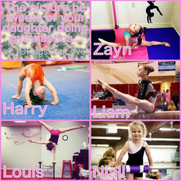 Toutes mais surtout Harry c'est trop mignon !