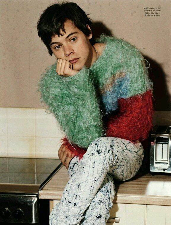 Je sais pas vous, mais je trouve cette photo d'Harry chelou !