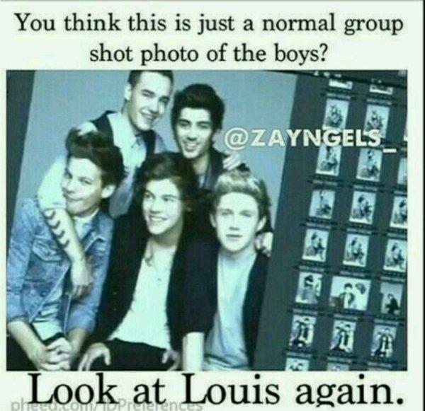 Putain mais Louis, tu gâche sans arrêt les belles photos avec tes grimaces !