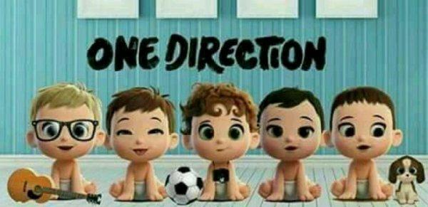 Awwwwwwwwww ils sont a croquer ! Je vous jure j'ai des fils comme ça, je refais un autre One Direction ! XD