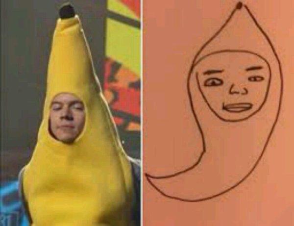 Ça, ca s'appelle un beau portrait de Harry !