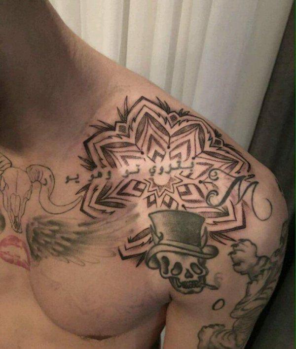 Et encore un autre tatouage pour Zayn !