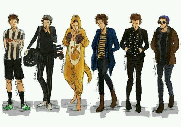 Quelle tenue vous préférez de Harry ?
