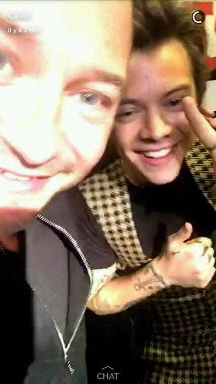 Cauet et Harry !