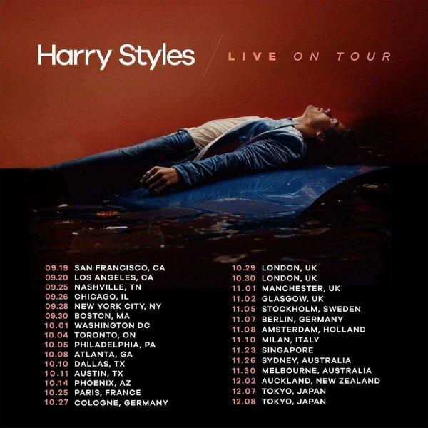 Harry est en tournée !