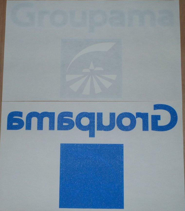 Sponsors Officiel GROUPAMA bleu marine/bleu ciel Transpol