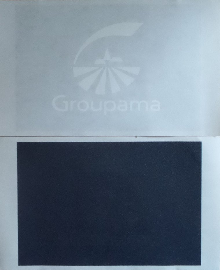Sponsors Officiel GROUPAMA noir/blanc Transpol