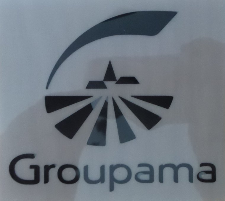 Sponsors Officiel GROUPAMA noir Polyfloc (short)