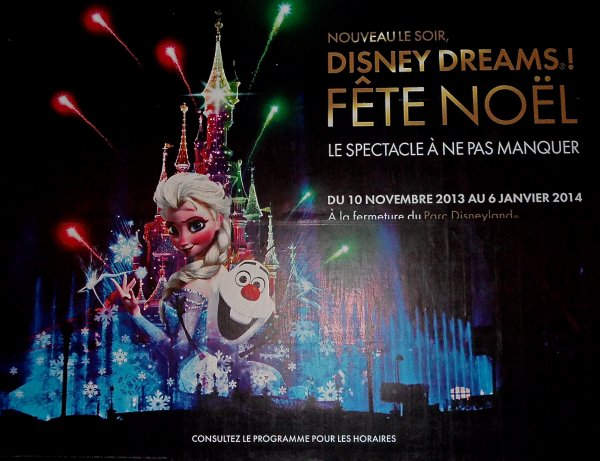 Disney Dreams! Fête Noël :)