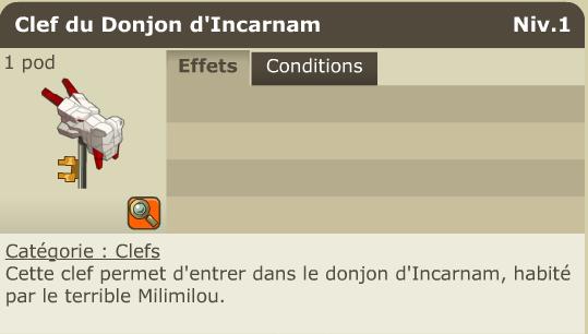 Tutoriel 1 : Donjon Incarnam