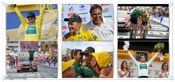 Le Tour de France 2011, c'est fini