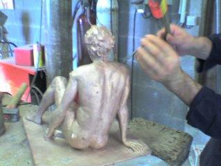 "Ciselure du bronze ""Rêve"""