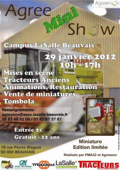Exposition a Bauvais 2012