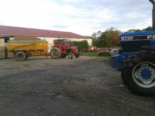 Les tracteurs de mon patron