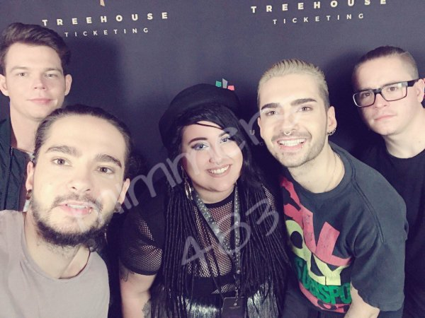 Concert Dream Machine avec des fans à Amsterdam le 19.03.2017