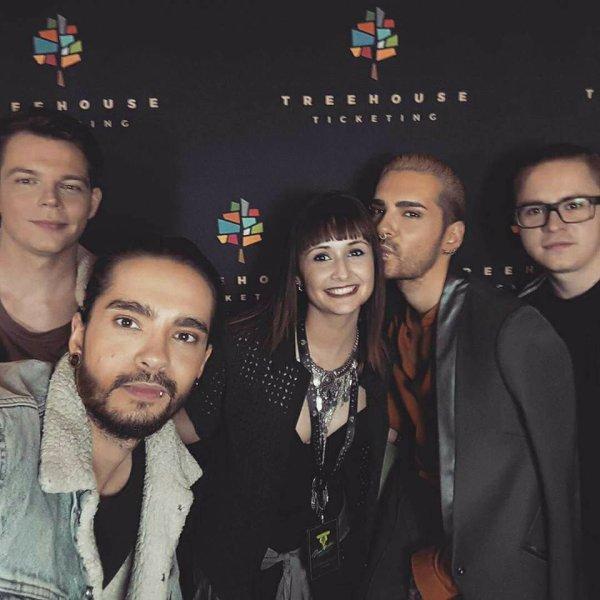 Avec des fans à Paris le 21.03.2017