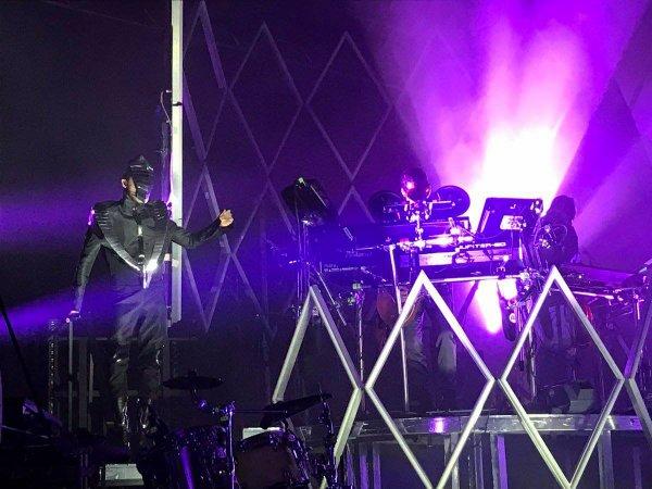 Dream Machine à Leipzig le 01.04.2017 (Allemagne)