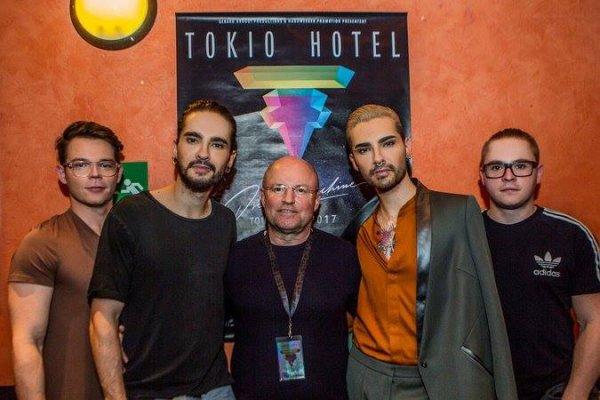 Le groupe avec Fred Handwerker le 04.04.2017 à Berlin