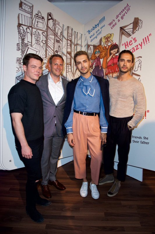 Bill & Tom & Georg @ Exhibition 'Letters Andy Warhol' by Cadillac House, Deutsches Museum - Munich le 13.07.2017