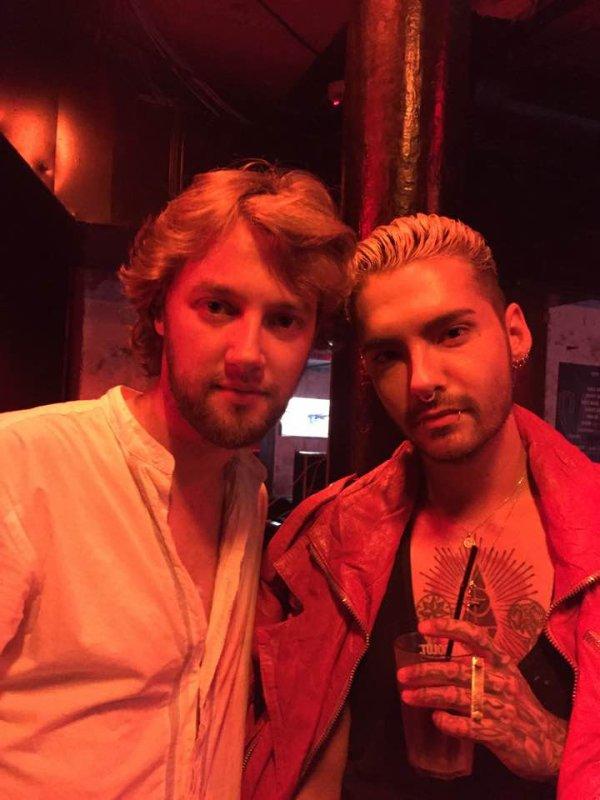 Bill avec Christian Mamoun @ SALÒ Club Paris - France le 24.06.2017