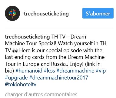 Instagram treehouseticketing