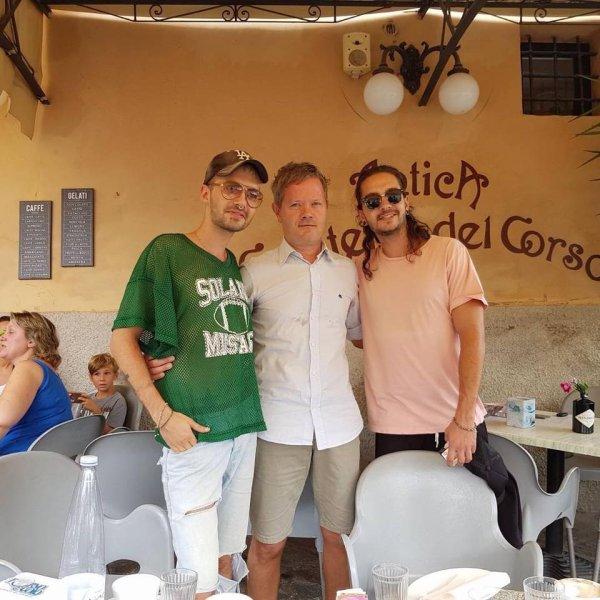 Caffè Ricchitto dal 1957 - Controguerra, Italie le 20.08.2017