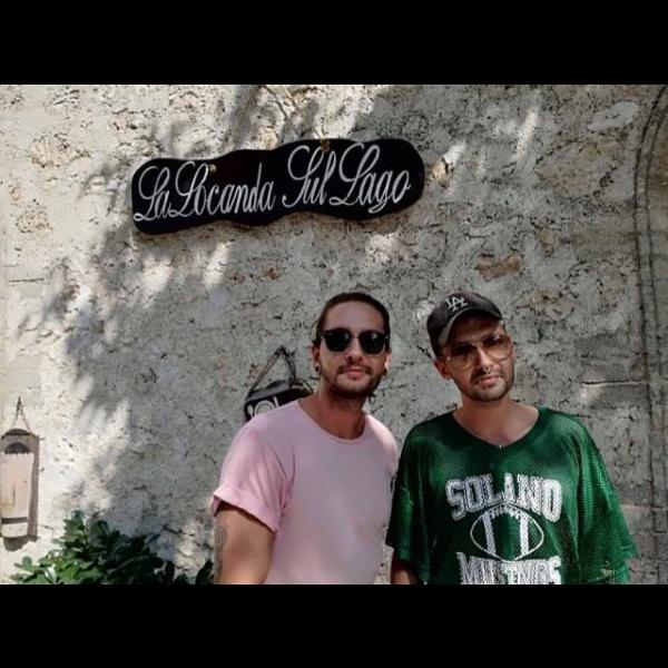 Bill et Tom à Santo Stefano di Sessanio en Italie le 20.08.2017