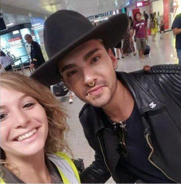 À l'aéroport de Rome Italie le 21.08.2017