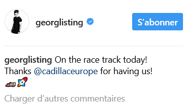 Instagram GEORGLISTING