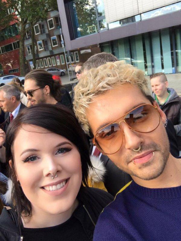 Tom, Bill & Fans à Bremen le 15.09.2017
