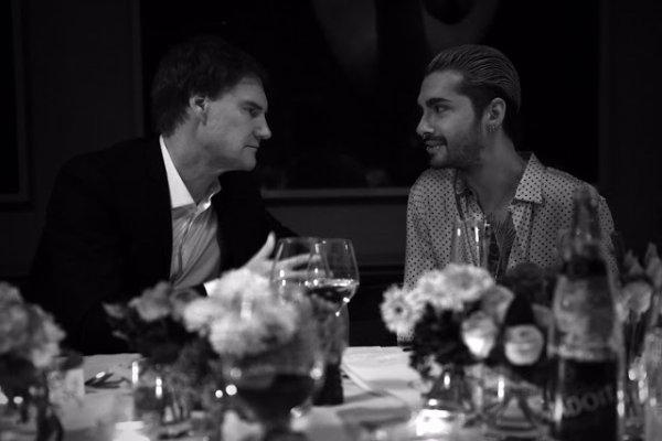 Bill & Tom Kaulitz à Focus Magazin Dinner - Berlin le 14.09.2017