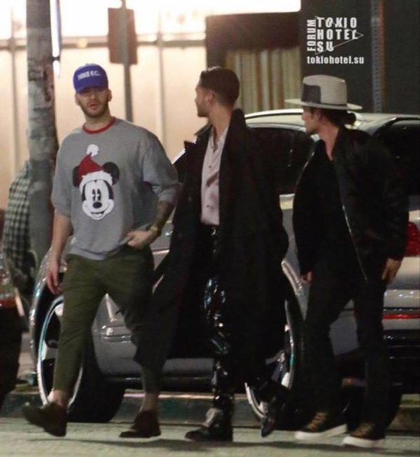 Bill, Devon et shiro à LA le 13.10.2017