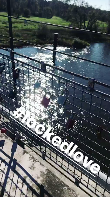 Georg Instagram Story le 15.10.2017 - #lockedlove 🔒