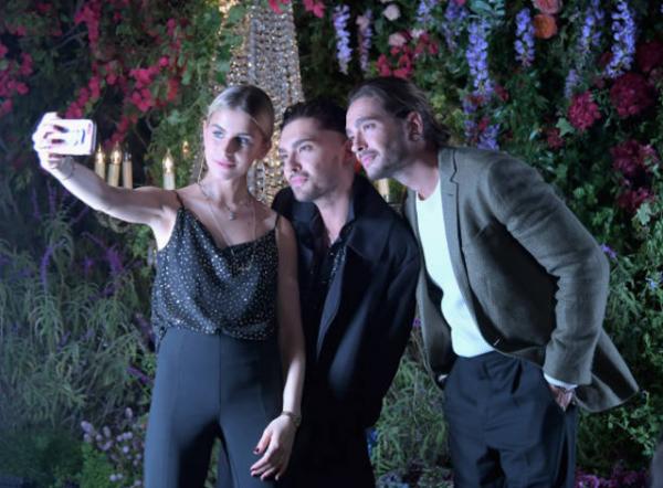 Bill & Tom Kaulitz with Caro Daur au H&M x ERDEM Runaway Show - The Ebell Club de Los Angeles le 18.10.2017]