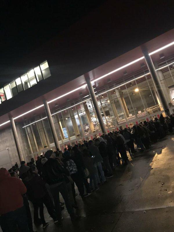 Fans au Luxembourg le 05.11.2017