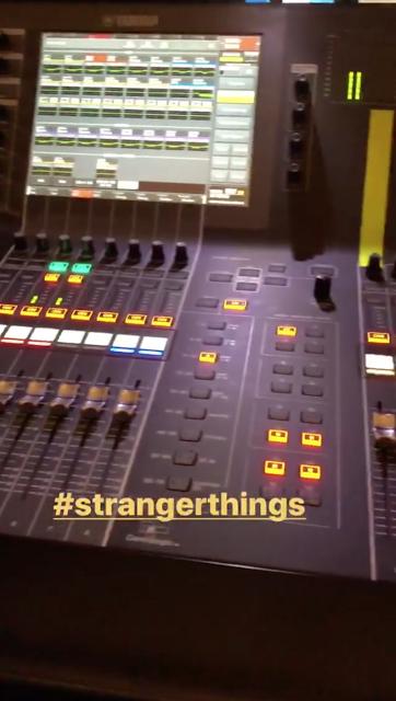 Gustav Instagram Story le 13.11.2017 - NEIGE 😍#chosesétranges
