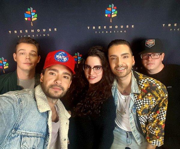 Avec des fans à Bologne le 13.11.2017