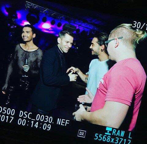 "Tokio Hotel au ""Kamikaze Private Show"" - Moscou le 17.11.2017 (Russie)"