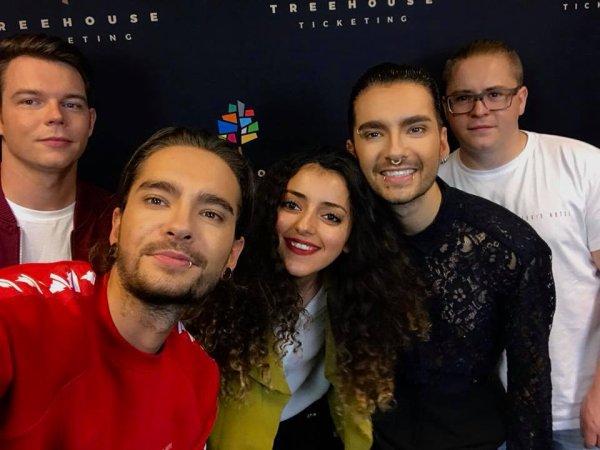 Avec des fans à Berlin le 18.11.2017