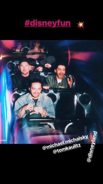 Bill Kaulitz Instagram Story le 13.12.2017