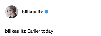 Instagram BILLKAULITZ