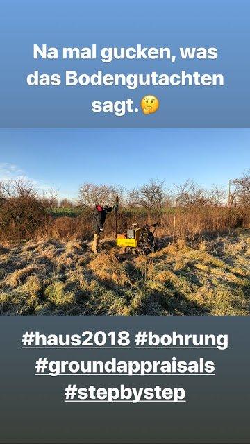 Gustav Schäfer Instagram Story le 07.02.2018 - Voyons ce que dit le rapport sur le sol.