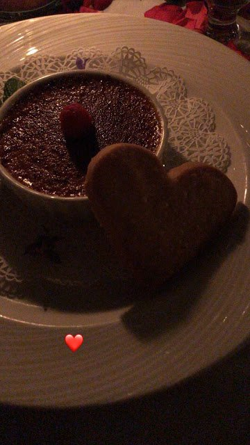 Bill Kaulitz Instagram Story le 14.02.2018]- Déjeuner de Saint Valentin❤️❤️ MOOD 👫
